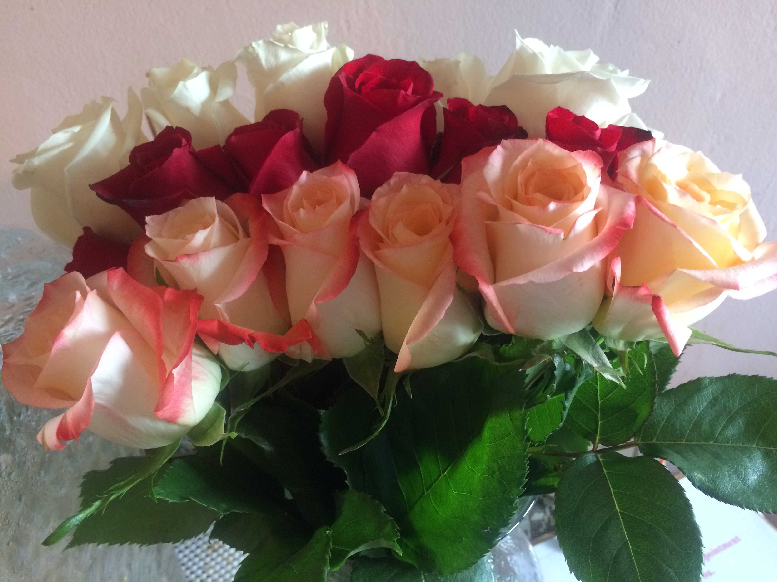 The gift of roses!
